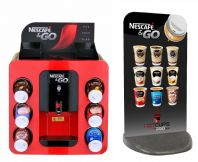 Nescafe &Go Dispenser Machine and Premium 2020 Pavement Sign (Free UK Mainland Express Delivery)